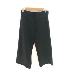 lululemon Wide Leg Pants-Cropped black siz…